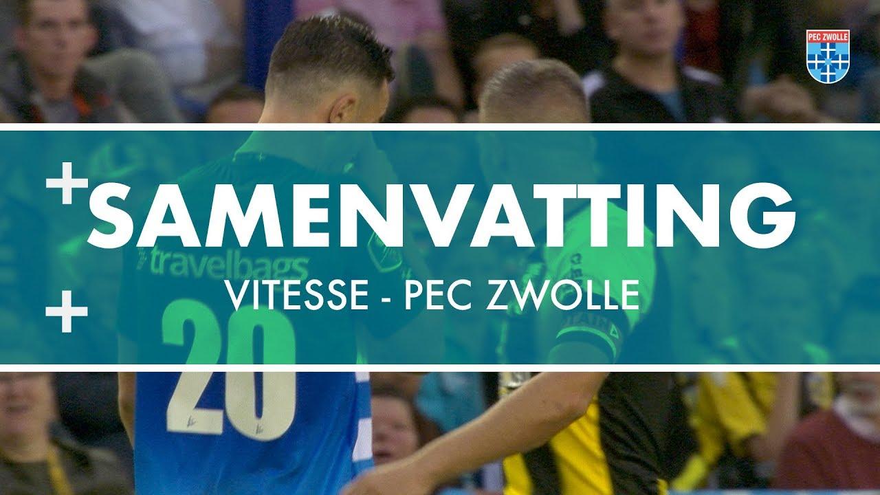 Vitesse - PEC Zwolle: 3-0